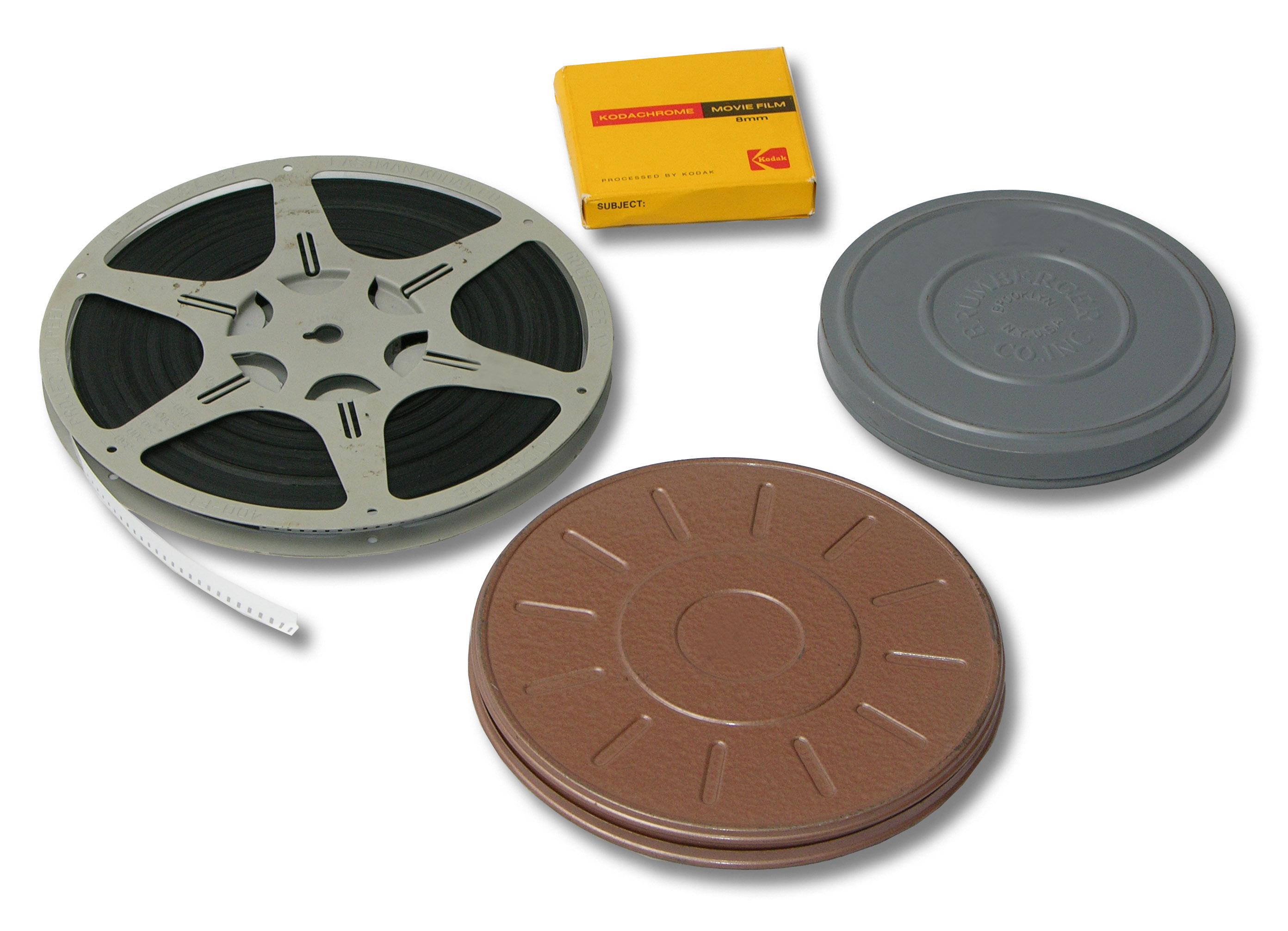 8mm film transfers